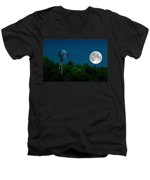 Moon Risen Men's V-Neck T-Shirt