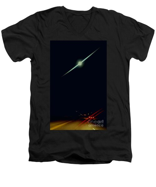 Moondate Men's V-Neck T-Shirt
