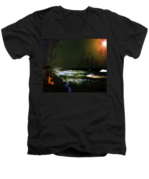 Hope In The Darkness Men's V-Neck T-Shirt