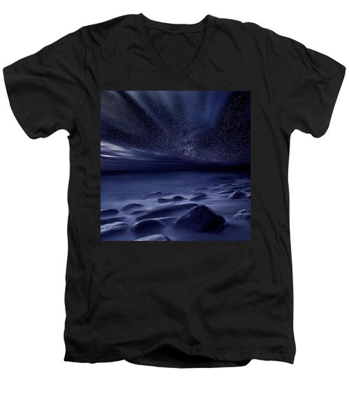 Moonlight Men's V-Neck T-Shirt
