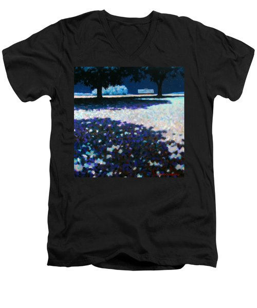 Moonlit Acres Men's V-Neck T-Shirt