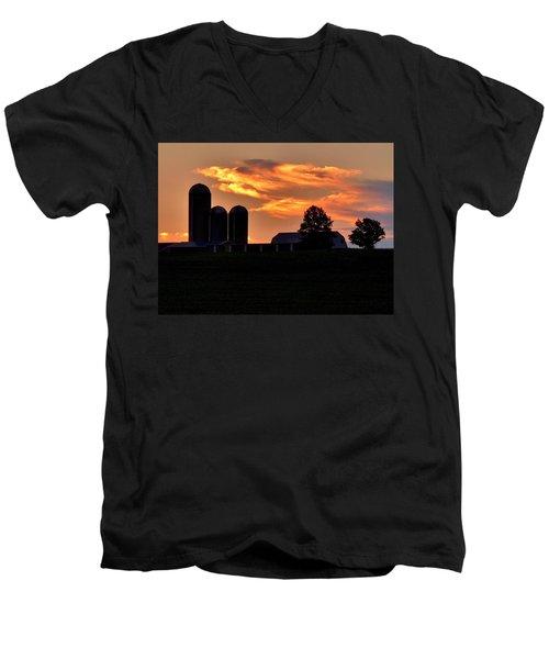 Morning Blush Men's V-Neck T-Shirt