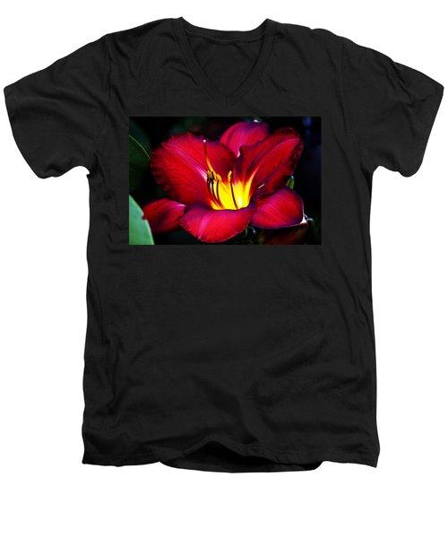 Morning Heat Men's V-Neck T-Shirt