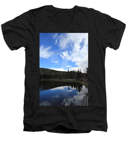 Morning Reflections Men's V-Neck T-Shirt