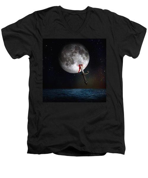 Morte Di Un Sogno - Dying Dream Men's V-Neck T-Shirt