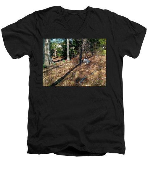 Mother Nature Men's V-Neck T-Shirt by Amazing Photographs AKA Christian Wilson