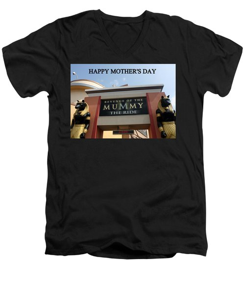 Mothers Day Men's V-Neck T-Shirt