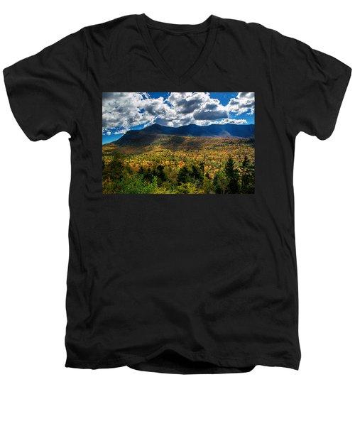 Mount Osceola 1 Men's V-Neck T-Shirt