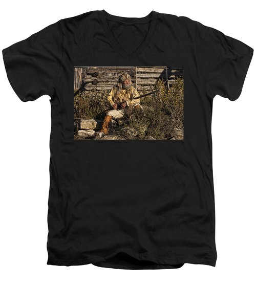 Mountain Man Men's V-Neck T-Shirt
