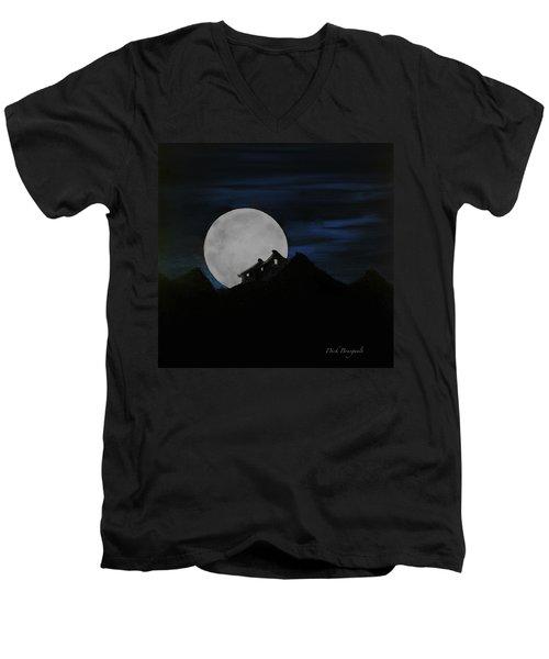 Mountain Monastery Men's V-Neck T-Shirt