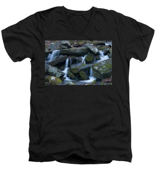 Mountain Stream Men's V-Neck T-Shirt