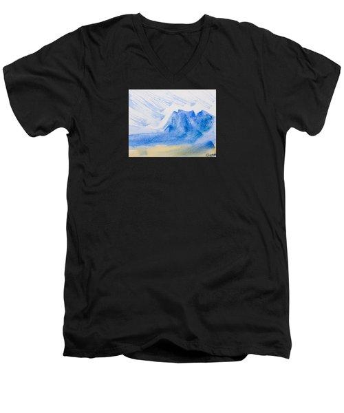 Mountains Tasmania Men's V-Neck T-Shirt