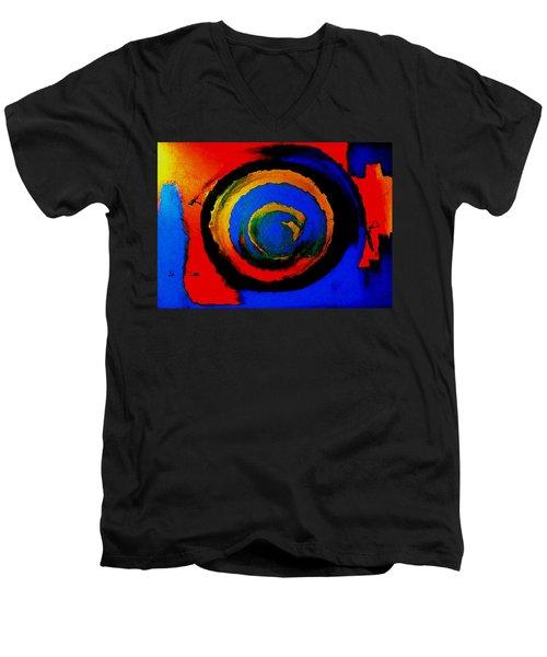 Moving Towards The Light Men's V-Neck T-Shirt