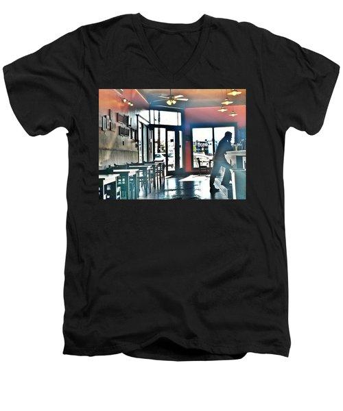 Mr. Moe Joe Men's V-Neck T-Shirt