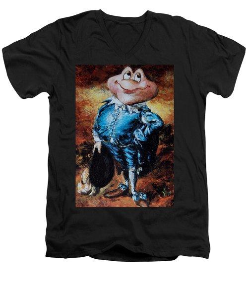 Mr Toad Men's V-Neck T-Shirt