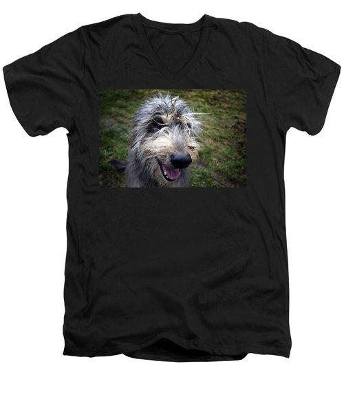 Muddy Dog Men's V-Neck T-Shirt