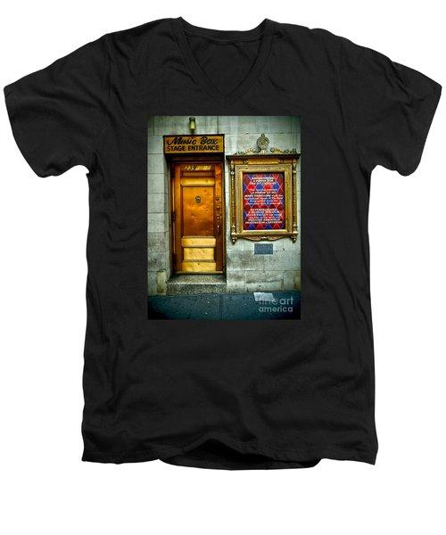 Music Box Stage Entrance Men's V-Neck T-Shirt
