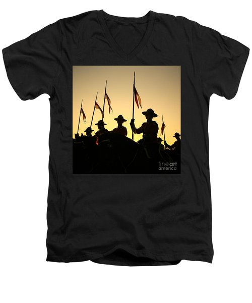 Musical Ride Men's V-Neck T-Shirt