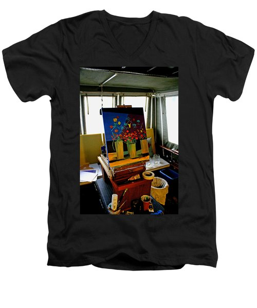 My Art Studio Men's V-Neck T-Shirt