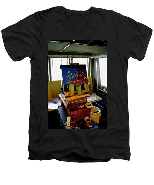 My Art Studio Men's V-Neck T-Shirt