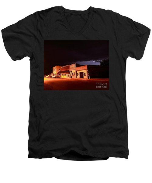 My Hometown Men's V-Neck T-Shirt