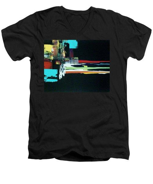 My Karma Ate My Dogma Men's V-Neck T-Shirt