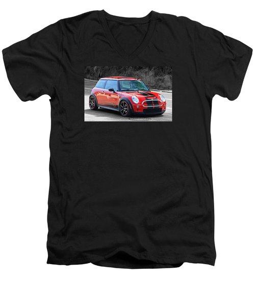 My Mini Men's V-Neck T-Shirt