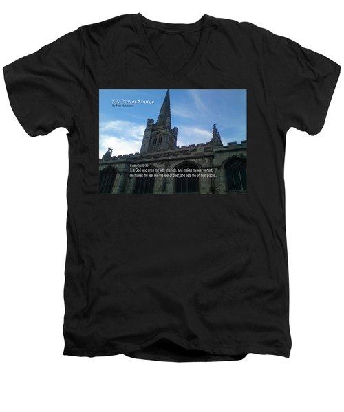 My Power Source Men's V-Neck T-Shirt