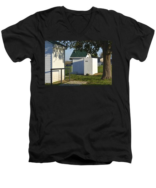 Boys Outhouse Men's V-Neck T-Shirt