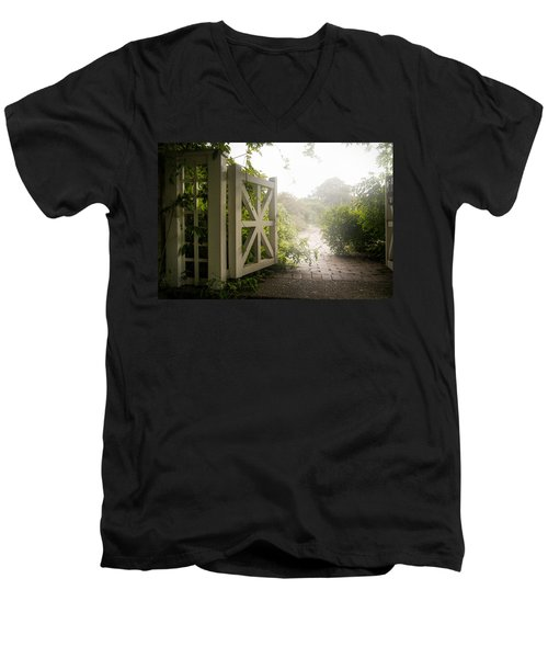 Mystic Garden - A Wonderful And Magical Place Men's V-Neck T-Shirt
