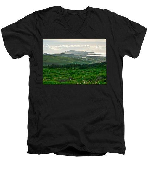 Mystic Morning Men's V-Neck T-Shirt