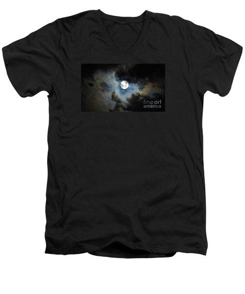 Mystical Clouds Men's V-Neck T-Shirt
