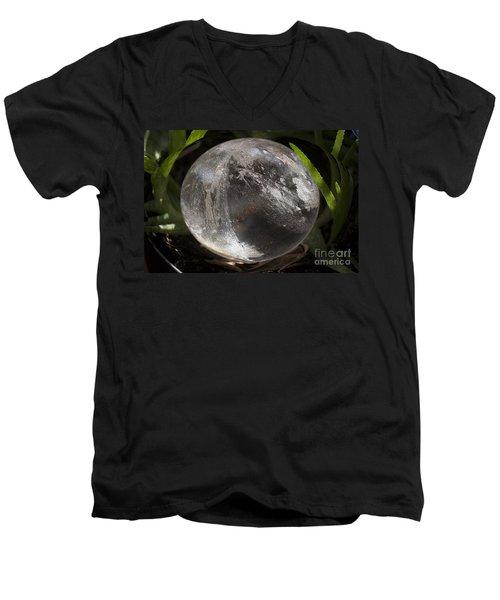 Mystical Crystal Sphere Men's V-Neck T-Shirt
