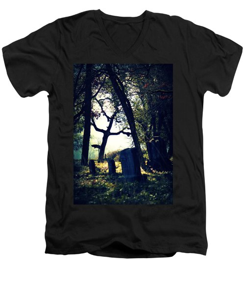Men's V-Neck T-Shirt featuring the photograph Mystical Fantasies by Melanie Lankford Photography
