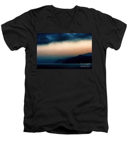 Mystical Sunrise Men's V-Neck T-Shirt
