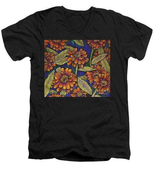Nazinnias Men's V-Neck T-Shirt