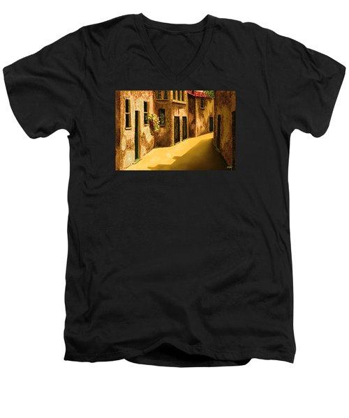 Narrow Street Men's V-Neck T-Shirt
