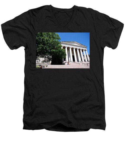 National Gallery Of Art Men's V-Neck T-Shirt