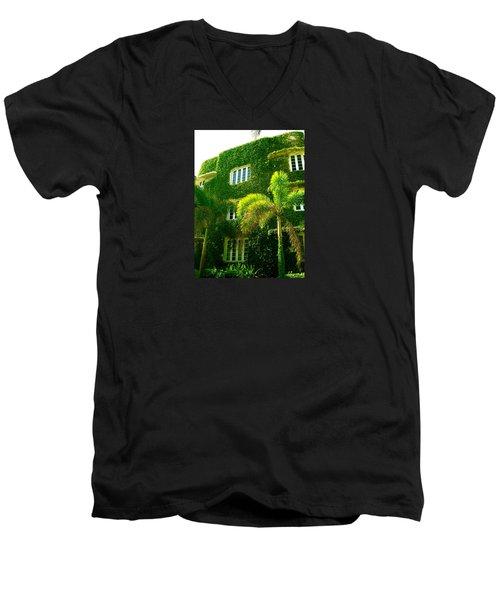 Natural Ivy House Men's V-Neck T-Shirt