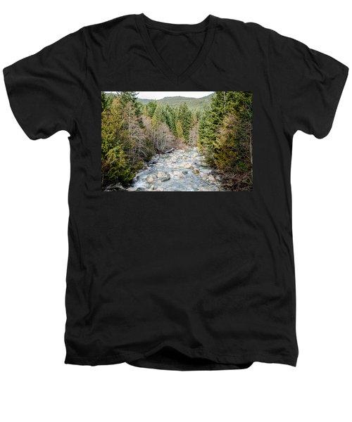 Island Stream Men's V-Neck T-Shirt
