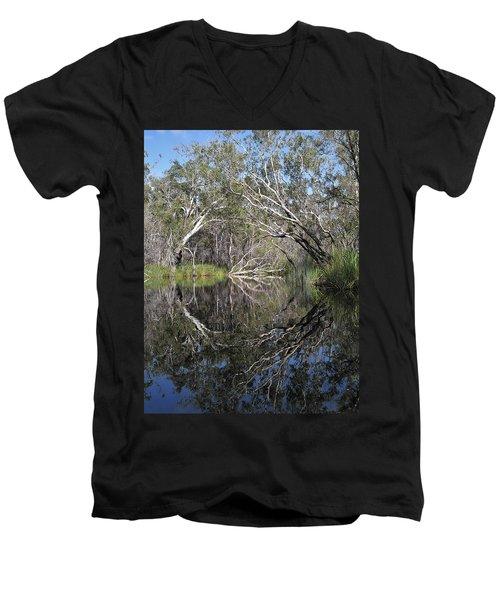 Natures Portal Men's V-Neck T-Shirt