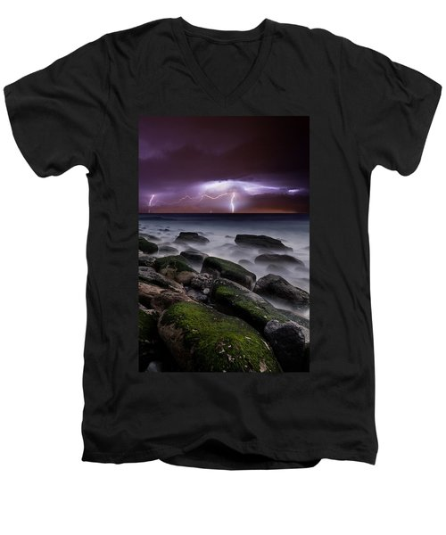 Nature's Splendor Men's V-Neck T-Shirt