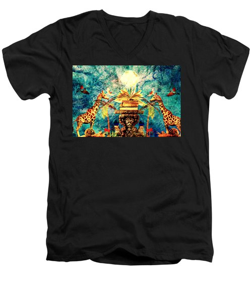 Near Reflections Men's V-Neck T-Shirt