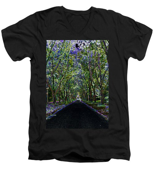 Neon Forest Men's V-Neck T-Shirt