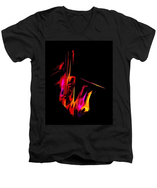 Neon Sax Men's V-Neck T-Shirt