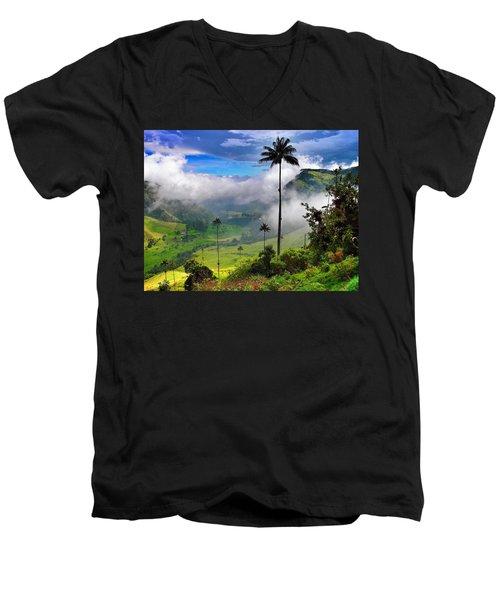 Nephilim Men's V-Neck T-Shirt by Skip Hunt