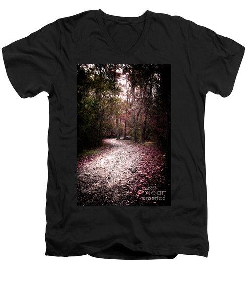 Never Fear Men's V-Neck T-Shirt