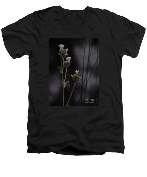 Men's V-Neck T-Shirt featuring the photograph New Beginnings by Joy Hardee