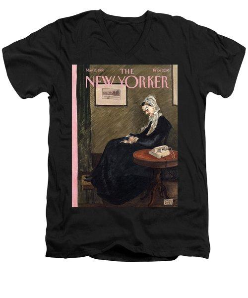 New Yorker May 13th, 1996 Men's V-Neck T-Shirt