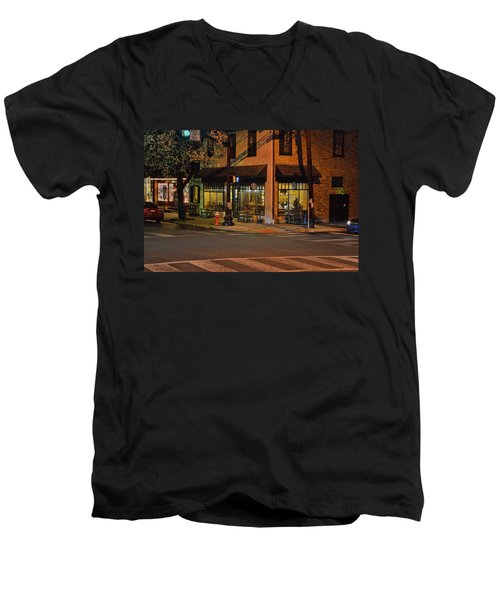 Newtown Nighthawks Men's V-Neck T-Shirt